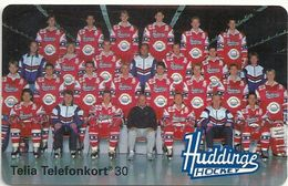 Sweden - Telia - Huddinge Hockey Team - 01.1994, 10.000ex, Used - Sweden