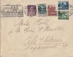 DR Brief Mif Minr.122,126 Und 3 Vignetten Vom 27. Philatag SST Nürnberg 24.7.21 - Deutschland