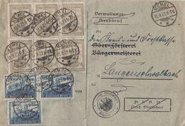 DR Brief Mif Minr.3x 261,6x 262 Kemel 11.9.23 - Deutschland