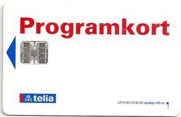 Sweden - Telia - Programkort Test Card 02.1995, 100ex, Mint - Sweden