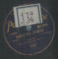 """78 Tours - MARJAL  - PARLOPHONE 80804  """" PARLEZ*MOI D'AMOUR  """" + """" TOUT PETIT """" - 78 Rpm - Gramophone Records"""