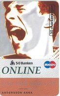 Sweden - Telia - SEBanken Online #2 - 03.1996, 30U, 3.330ex, Used - Sweden