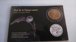 30 Cocaliere  Encart Nuit De La Chauve-souris, 28/29 Août 2010, Monnaie De Paris .....N°388/500 - Monnaie De Paris