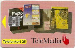 Sweden - Telia - Telemedia - 05.1993, 25U, 3.000ex, Mint (check Photos) - Sweden