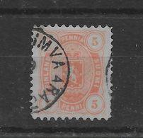 Sello De Finlandia Nº Yvert 14a (o). - 1856-1917 Administración Rusa