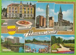 Grüsse Aus HAMM I. Westf. Carte Circulé 1972 - Hamm