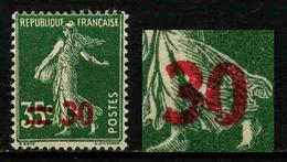 FRANCE - VARIETE - YT 476 ** - SEMEUSE - 0 De 30 Cassé - TIMBRE NEUF ** - Variétés: 1941-44 Neufs