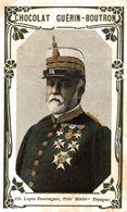 CHROMO CHOCOLAT GUERIN-BOUTRON N° 255 LOPEZ DOMINGUEZ PRESIDENT MINISTRE ESPAGNE - Guerin Boutron