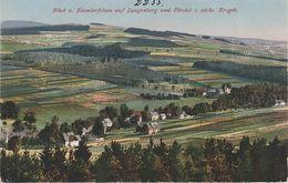 AK Blick Emmlerfelsen Emmler Fels A Langenberg Förstel Raschau Markersbach Schwarzbach Grünhain Elterlein Erzgebirge - Elterlein