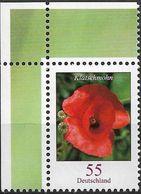 2005 Allem. Fed. Deutschland Germany Mi. 2472 **MNH EOL Klatschmohn (Papaver Rhoeas) - Ongebruikt