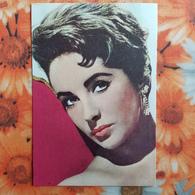 Actress AK Schauspielerin CPA Artiste Cinema  Elizabeth Taylor    1950s  - Old Spanish Card - Actores