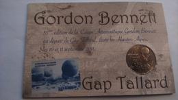 05 GAP TALLARD GORDON BENNETT MONTGOLFIÈRE PLANEURS MONNAIE DE PARIS ENCART 2011....N°108 - Monnaie De Paris