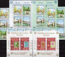 Congo-Kinshasa Bl.249+251,BOSNIA 339/2,2x VB+Blocks 13A/B ** 260€ Topics Hoja Blocs M/s Sheets S/s Bf 50 Years CEPT - Timbres