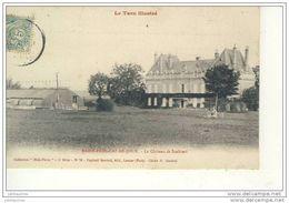 SAINT PAUL CAP DE JOUX LE CHATEAU SCALIBERT CPA BON ETAT - Saint Paul Cap De Joux