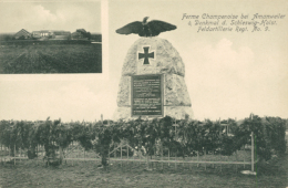 57 AMANVILLERS / Ferme Champenoise Et Denkmal D. Schleswig Holst. Feldartillerie Regt. N° 9 / - France
