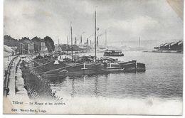 TILLEUR (4420) La Meuse Et Les Aciéries - Saint-Nicolas