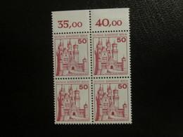 Berlin Nr. 536 Viererblock Oberrand Postfrisch** / MNH  (B42) - [5] Berlin