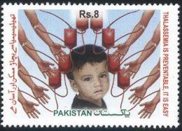 2012 Pakistan World Thalassemia Day, Medical, Health, Children (1v) MNH (PK-92) - Disease