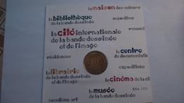 -- 2012 MEDAILLE JETON MONNAIE DE PARIS -- 16000 LE MUSEE DE LA BANDE DESSINEE.......N°054/500 - Monnaie De Paris