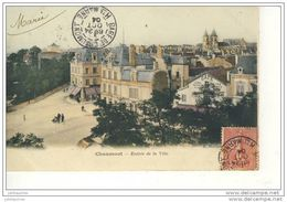 CHAUMONT ENTREE DE LA VILLE CPA COULEUR 1904 BON ETAT - Chaumont