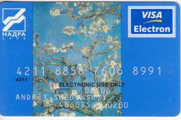 Ukraine , Ukraina , Ucraine , Ucraina , Bank Card , Banccard ,  Used - Other Collections