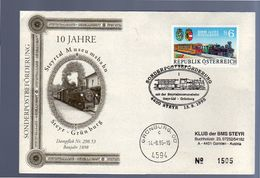 Train Steyrthalbahn-gesellschaft 1995 LIMITED QUANTITLY ISSUED Uastria (268) - Eisenbahnen