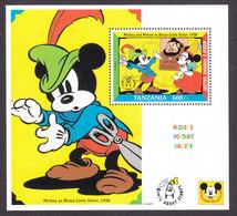 Tanzania, Scott #926, Mint Never Hinged, Disney Characters, Issued 1992 - Tanzania (1964-...)