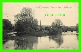 BLAGNY (08) - FORGES DE BLAGNY, LE DÉVERSOIR - CLICHÉ LONGUEVILLE - EDIT.  L. GRANDJEAN - CIRCULÉE  EN 1923 - - Sedan