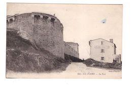 83 Six Fours Le Fort Café National Cpa Carte Rare - Six-Fours-les-Plages