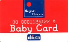*ITALIA: TESSERA -  CHICCO* - Usata - Non Classificati