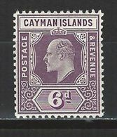 Cayman Islands SG 30, Mi 26 * MH - Iles Caïmans