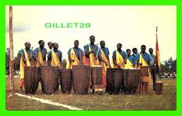 RWANDA, AFRIQUE - LES FAMEUX TAMBOURINEURS DU PAYS - ÉDITEUR, IMPRIMERIE DU RWANDA -- - Rwanda