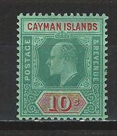 Cayman Islands SG 34, Mi 29 * MH - Iles Caïmans