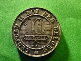 Belg 10 Cent  1895 FR  Rare  Over 94 - 1865-1909: Leopold II