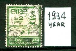 EIRE - IRLANDA - Year 1934 - Usato - Used - Utilisè - Gebraucht . - Usati