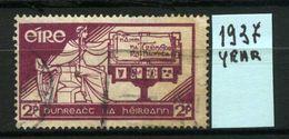 EIRE - IRLANDA - Year 1937 - Usato - Used - Utilisè - Gebraucht . - 1922-37 Stato Libero D'Irlanda