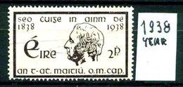 EIRE - IRLANDA - Year 1938 - Usato - Used - Utilisè - Gebraucht . - 1937-1949 Éire