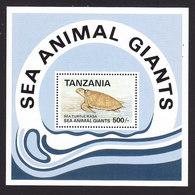 Tanzania, Scott #954, Mint Never Hinged, Marine Life, Issued 1992 - Tanzania (1964-...)