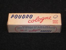 Savon De Guerre En Comprimés, Poudro Cologne SOSEC, 1942, Boite Pleine Avec Notice, WW2. - Army & War