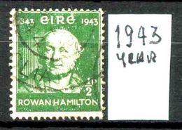 EIRE - IRLANDA - Year 1943 - Usato - Used - Utilisè - Gebraucht . - 1937-1949 Éire