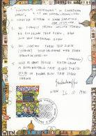 LIECHTENSTEIN MK 114, 1060, Friedensreich Hundertwasser: Zeitgenössische Kunst 1993 - Cartas Máxima