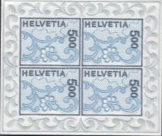 SCHWEIZ  1726, Kleinbogen, Postfrisch **, St. Galler Stickerei 2000 - Blocks & Kleinbögen