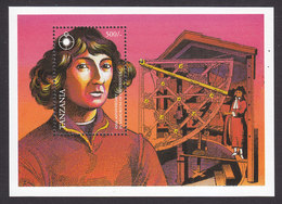 Tanzania, Scott #1035, Mint Never Hinged, Copernicus, Issued 1993 - Tanzania (1964-...)