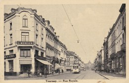 TOURNAI - HAINAUT - BELGIQUE - PEU COURANTE CPA - BEL AFFRANCHISSEMENT POSTAL - Tournai