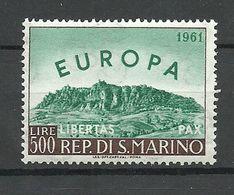 SAN MARINO 1961 Michel 700 Europa CEPT MNH - 1961
