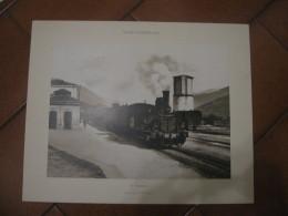STAMPA  SONDRIO   LA STAZIONE  40 X 50 CM - Prints & Engravings