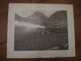 STAMPA  SONDRIO   ARRIVO DEL TRENO DA MILANO   40 X 50 CM - Prints & Engravings