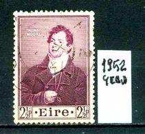 EIRE - IRLANDA - Year 1952 - Usato - Used - Utilisè - Gebraucht . - 1937-1949 Éire