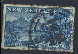 New Zealand 1898 2 1/2p Mt. Earnslaw, Issue #74 - 1855-1907 Crown Colony