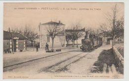 Drôme POËT- LAVAL La Gare Arrivée Du Train - France